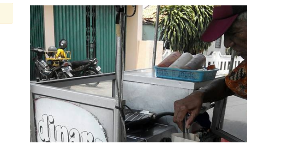Pantang menyerah, Mbah Dongkrak kayuh sepeda 70 kilometer jual burger