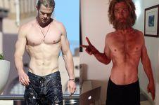 Dulunya macho, sekarang kerempeng, ada apa dengan Chris Hemsworth?