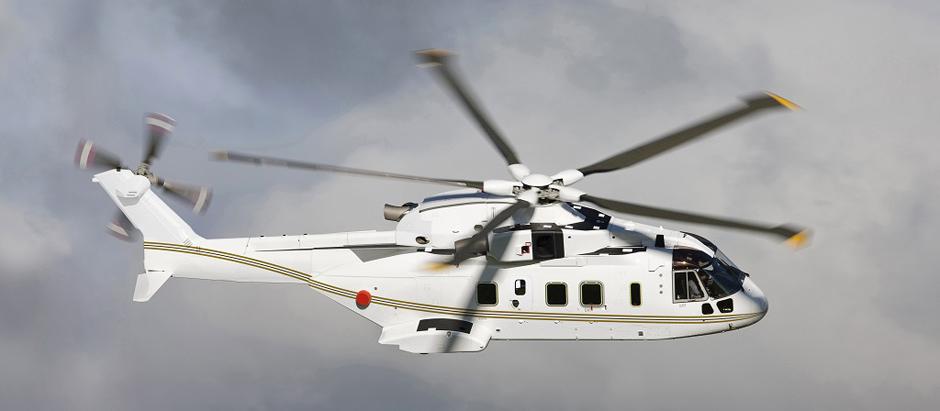 Ini fitur canggih heli Agusta yang akan dibeli untuk presiden