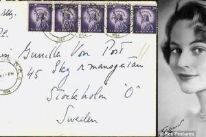 Surat cinta rahasia John F Kennedy laku Rp 206 juta!