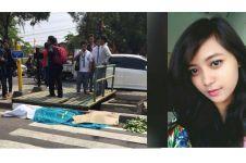 Mentari Fajarini, gadis cantik yang meninggal terlindas truk