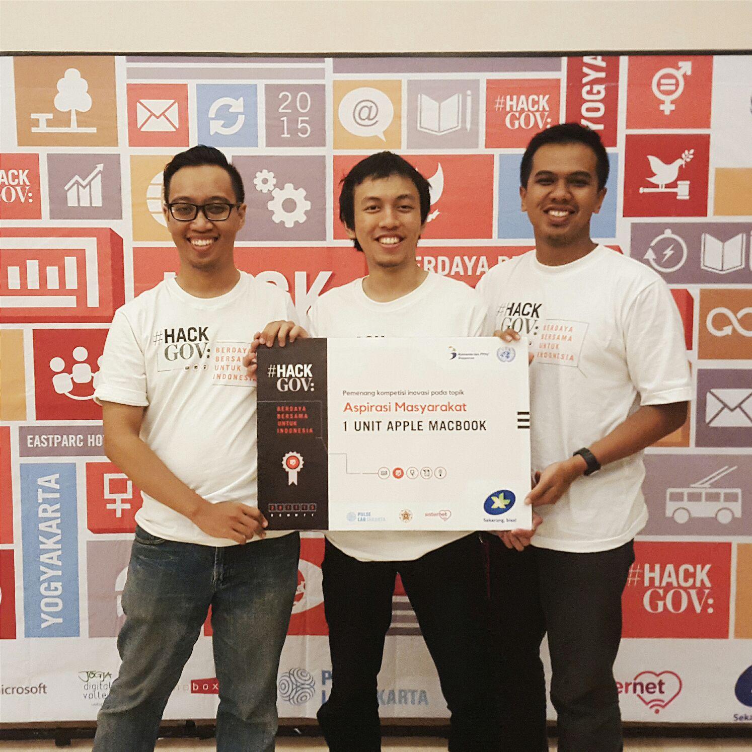 3 Anak muda ini berhasil bikin aplikasi pemetaan pencemaran air, top!