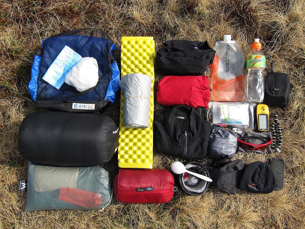 Ultralight backpacking, teknik pangkas berat bawaan selama mendaki