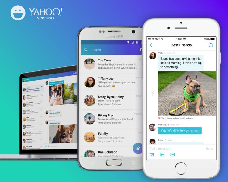 Yahoo Messenger bermetamorfosis jadi aplikasi chatting super keren!
