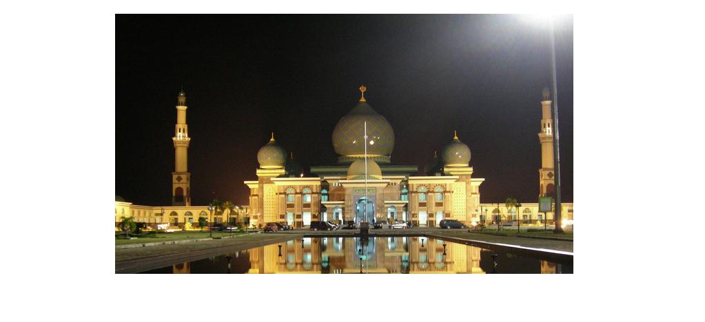 Mirip Taj Mahal, bangunan di Indonesia ini jadi objek foto Instagram