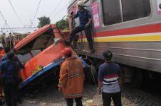 Daftar kecelakaan KRL yang pernah terjadi selama 2015
