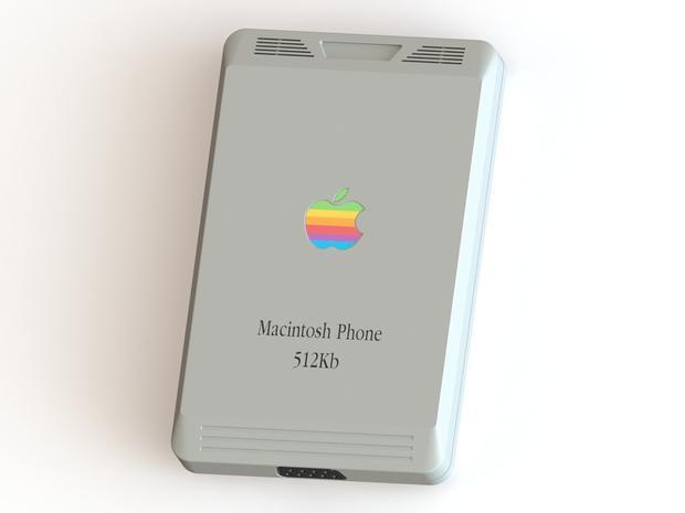 Begini penampakan iPhone jika dirilis tahun 1987, jadul ...