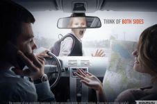 30 Gambar iklan kreatif ini punya pesan moral yang dalam & menyentuh