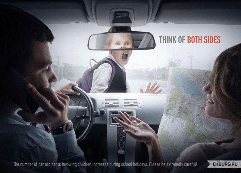 30 Gambar Iklan Kreatif Ini Punya Pesan Moral Yang Dalam