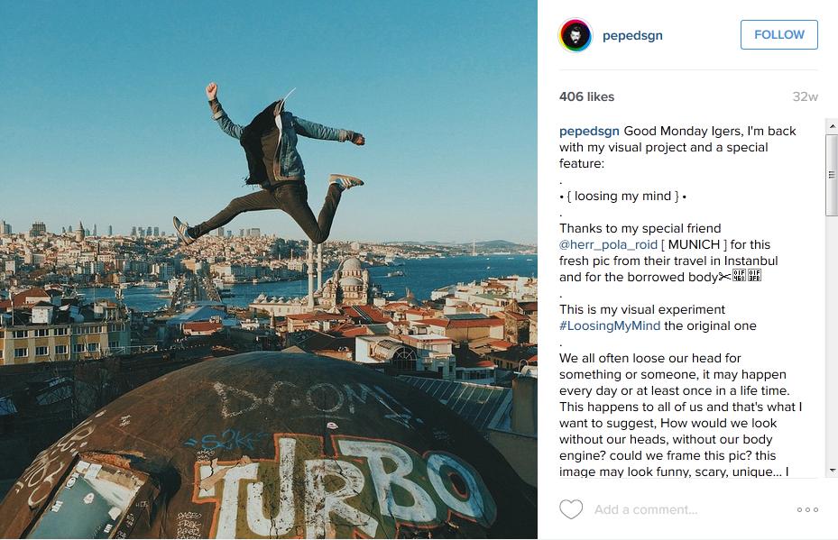20 Foto selfie anti-mainstream tanpa kepala, bikin merinding disko!