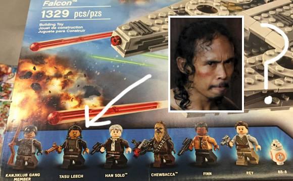 Karakter lego Star Wars mirip Yayan Ruhian, benarkah Yayan terlibat?