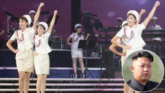 Korea Utara ternyata juga punya girlband, nggak kalah dari SNSD