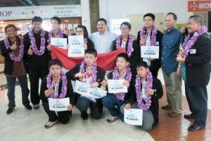 Tim Indonesia sabet 6 emas dalam lomba matematika tingkat dunia, top!