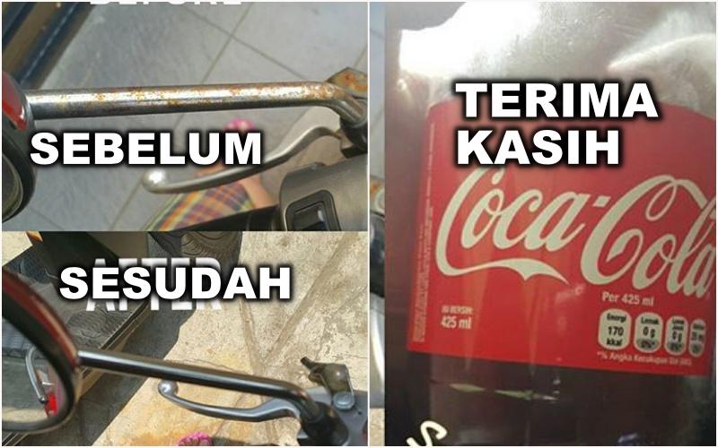 20 'Manfaat' Coca-Cola yang bakal bikin kamu nganga, yuk coba!