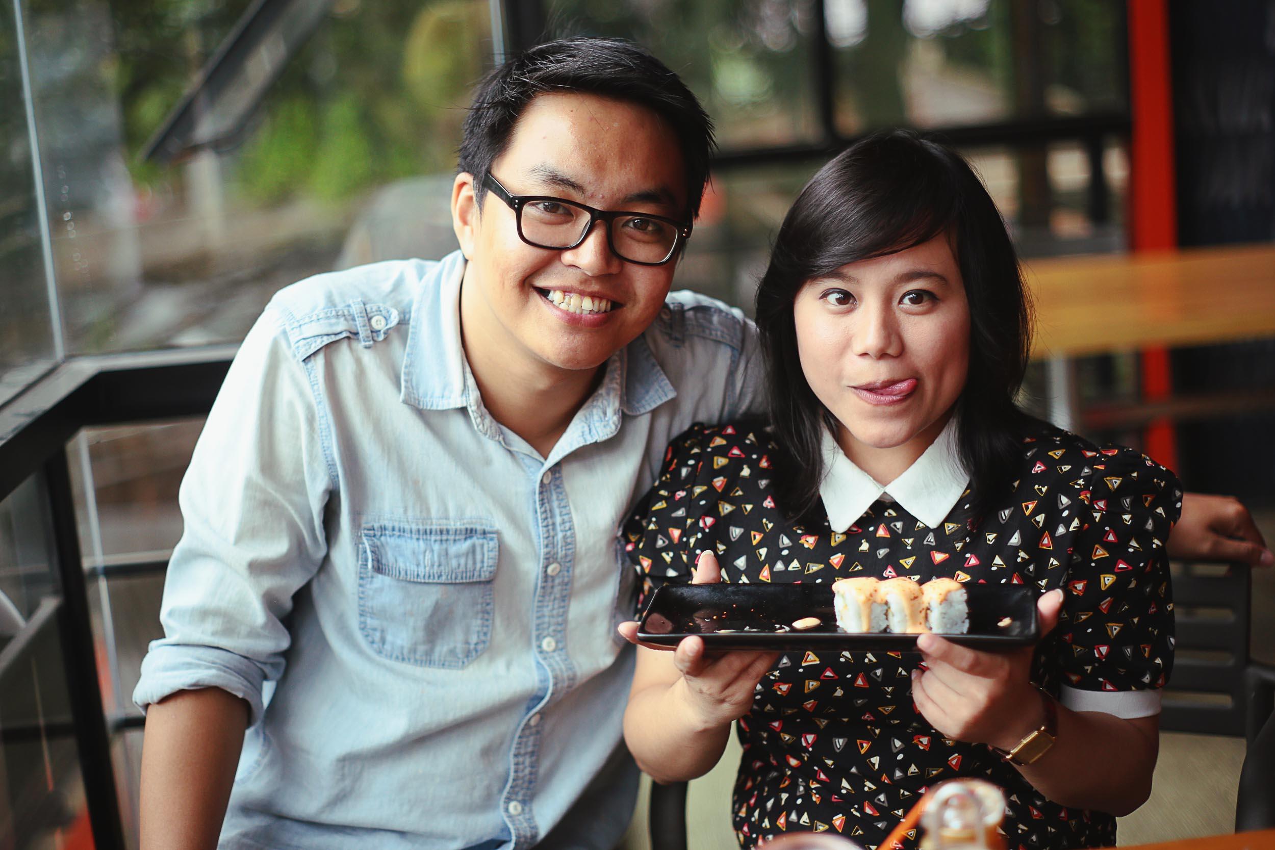 Berawal dari hobi makan, pasangan ini kini foodblogger, keren!