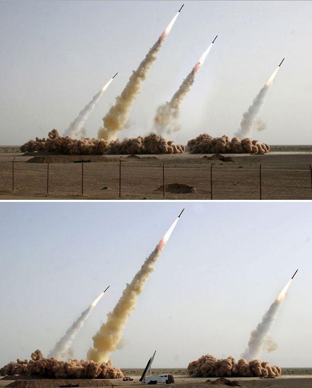 Misi peluncuran misil Iran