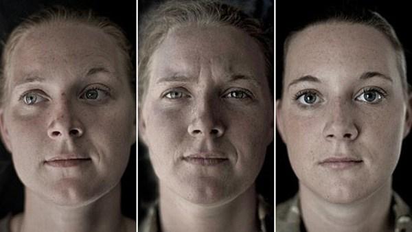 Mencengangkan! Perubahan wajah tentara sebelum, saat, & usai perang