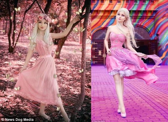 Cantik luar biasa, Barbie hidup ini mengaku tak pernah operasi plastik