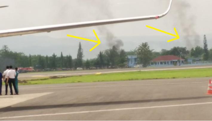 Pesawat T50i jatuh di Gebyar Dirgantara Yogyakarta
