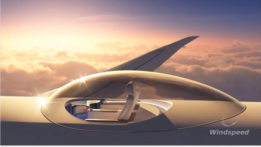 Teknologi ini bantu kamu nikmati langit langsung dari atas pesawat