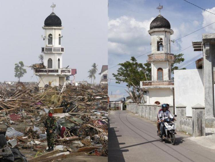 Potret Kondisi Terkini Tempat Tempat Yang Dulu Dihantam Tsunami A