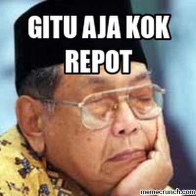 Ini kata netizen di haul Gus Dur ke-6