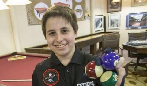 VIDEO: Aksi Matthew Webber, usia 14 tahun sudah jago 200 trik biliar