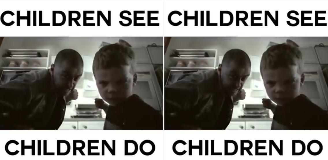 Hati-hati! Anak-anak meniru setiap tingkah lakumu, ajari yang baik ya