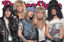 Slash & Axl Rose 'rujuk', Guns N' Roses dikabarkan reuni April 2016