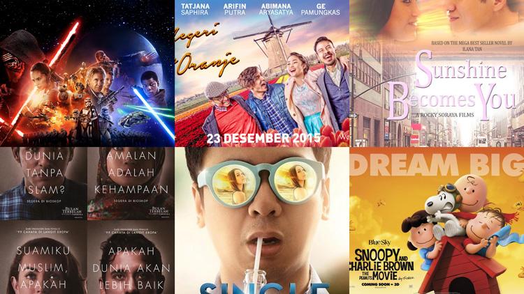 9 Film keren yang akan menemani malam tahun barumu, apa saja?