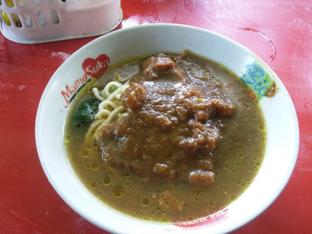 Mie Ayam Tumini, kuliner lezat yang terjual ratusan mangkok per hari