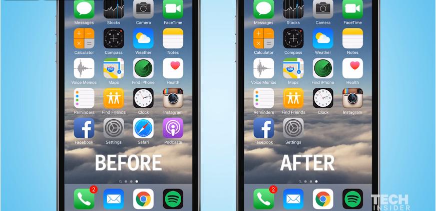 Begini cara menyembunyikan aplikasi iPhone yang tidak bisa dihapus