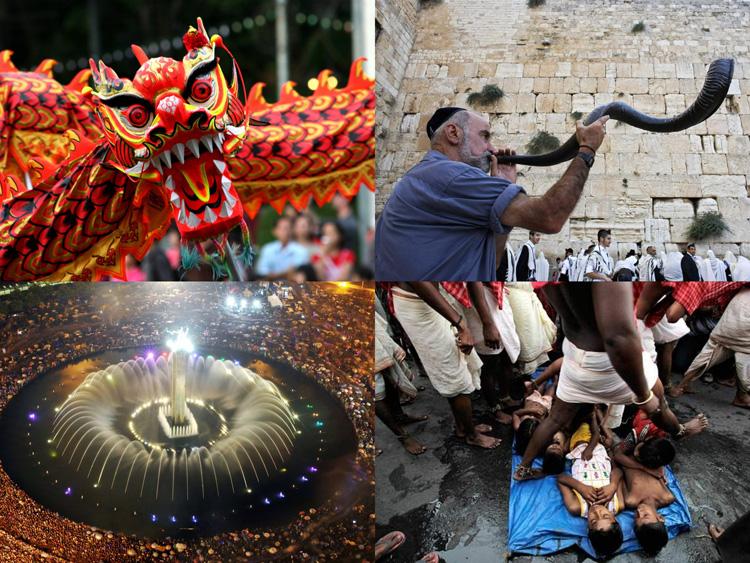 7 Perbedaan waktu & perayaan tahun baru di berbagai negara