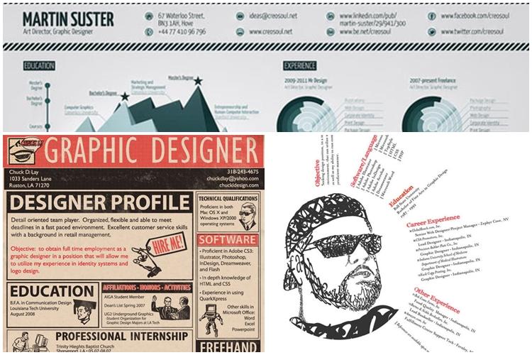 27 Desain Cv Kekinian Ini Bisa Kamu Jadikan Referensi Kreatif Ba