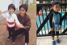 Lucunya jogetan anak Eross Candra dan nyanyian anak Ibas Yudhoyono