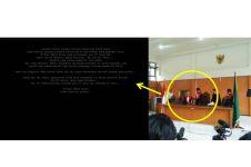 Hakim loloskan terlapor pembakar hutan, situs PN Palembang diretas