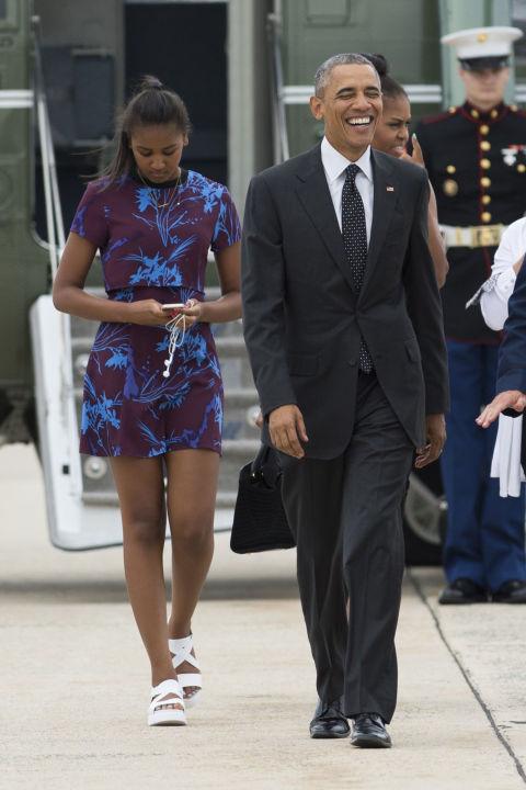 15 Gaya fashion sederhana putri Obama ini bakal bikin kamu terpesona!