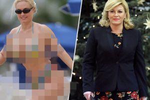 Foto viral Presiden Kroasia saat pakai bikini ternyata hoax