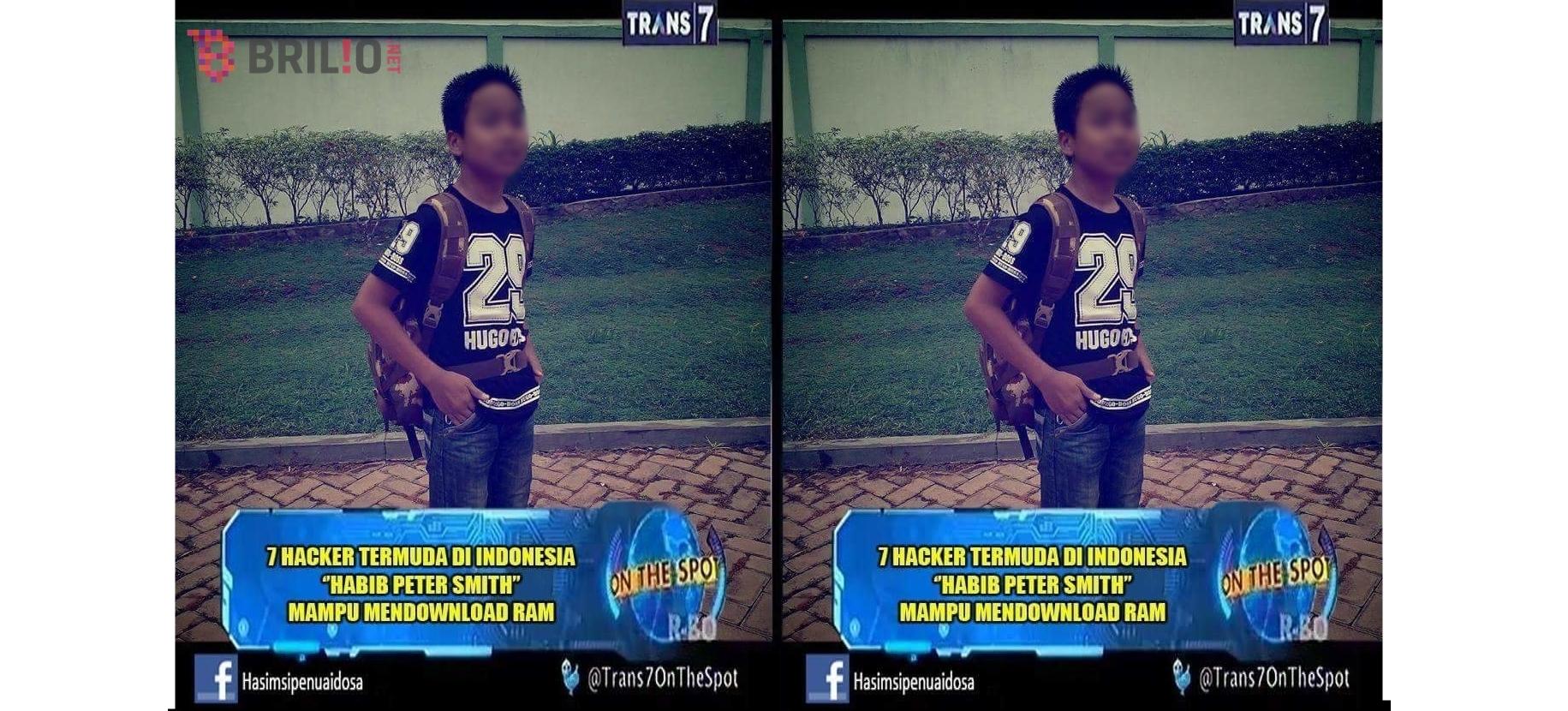 Bocah ini dianggap hacker termuda Indonesia & bisa mengunduh RAM, wow!