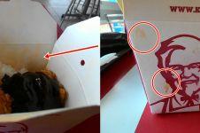 Jumpai banyak kejanggalan, pelanggan ini curiga KFC pakai wadah bekas