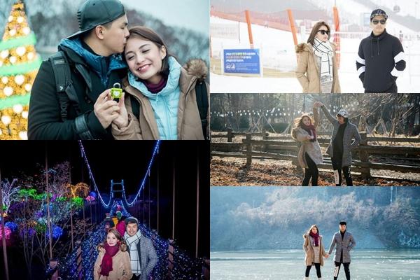 Foto-foto romantis Glenn & Chelsea saat liburan ke Korsel, bikin iri!