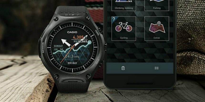 Casio rilis jam tangan khusus petualang berbasis Android, keren lho!