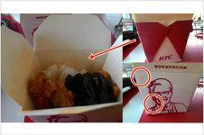 KFC benarkan pakai wadah bekas untuk paket menu KFC Bento