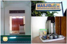 Didesain full AC dan sediakan kopi gratis, masjid ini diminati jamaah
