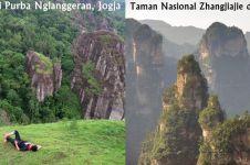 Bukan China, pemandangan ala planet Pandora Avatar ini ada di Jogja