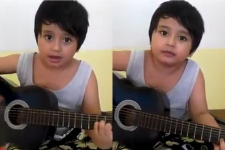 VIDEO: Ini calon musisi masa depan, bocah ganteng musikalitas tinggi!
