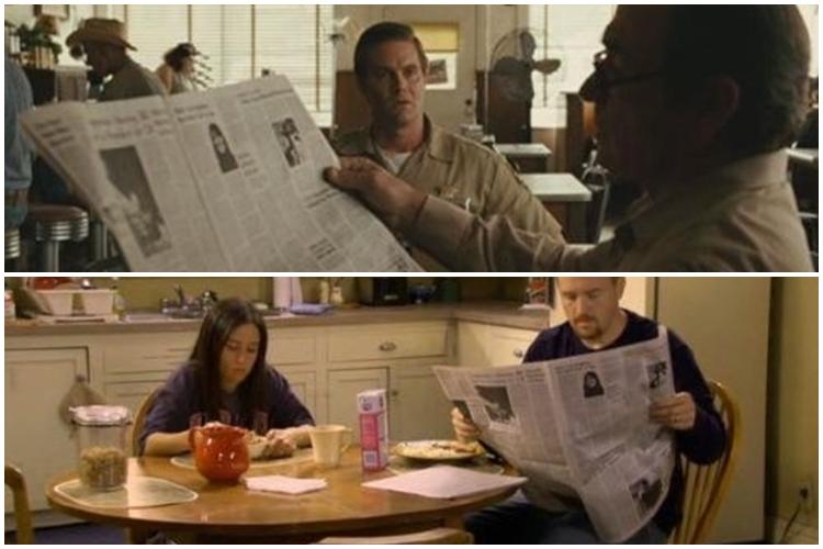 Koran edisi yang sama dipakai dalam puluhan film berbeda, mengherankan