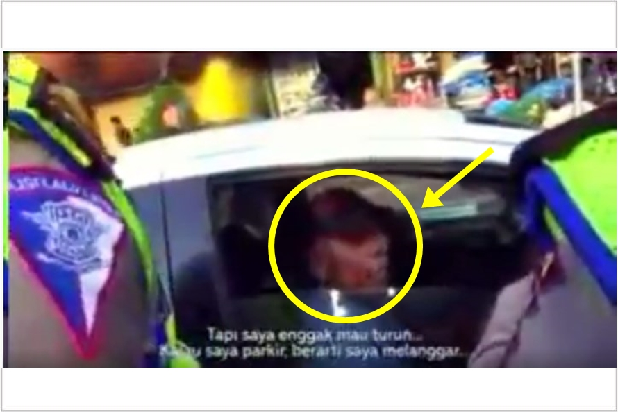 Sopir taksi menolak ditilang polisi bikin netizen heboh, kenapa ya?