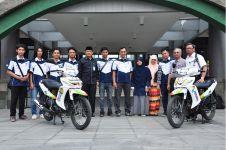 Mahasiswa Indonesia ciptakan motor berbahan bakar 'air plus', top!