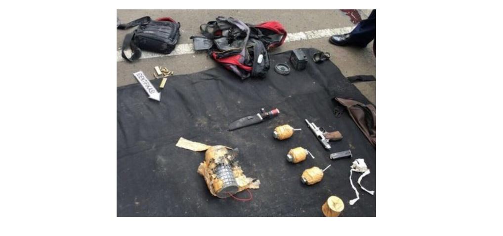 Ini senjata-senjata yang dipakai dalam aksi teror Sarinah